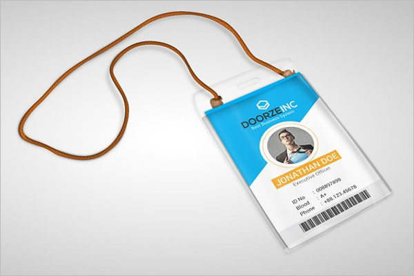 Job ID Card Template