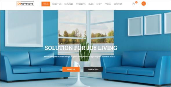 Joomla Interior Design Template