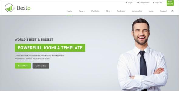 Joomla VirtueMart Template