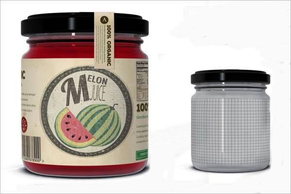Juice Jar Mockup