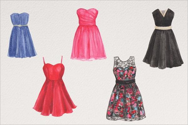 Kids Dress Design Template