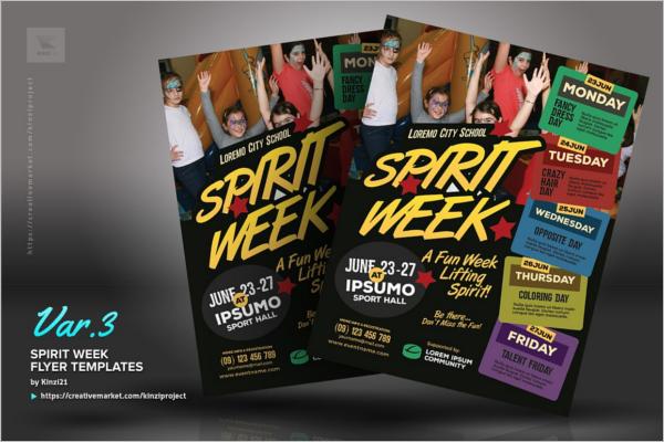 Kids Sports Event Flyer Template