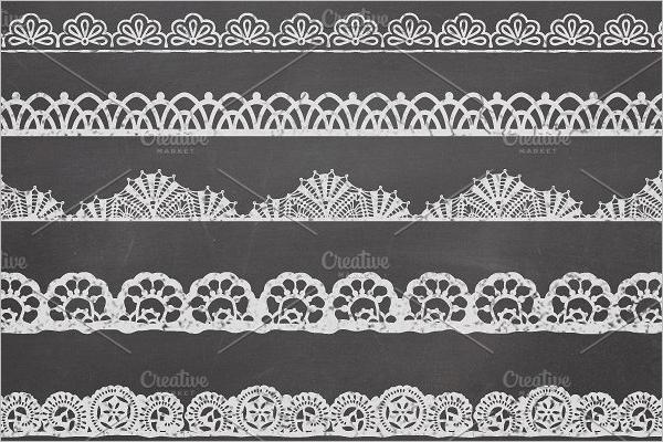 Lace Border Design