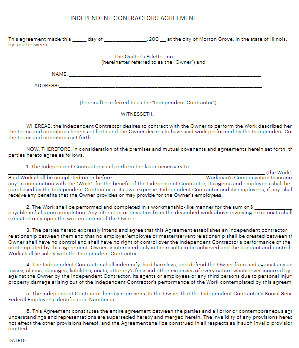 Land Purchase Agreement Form
