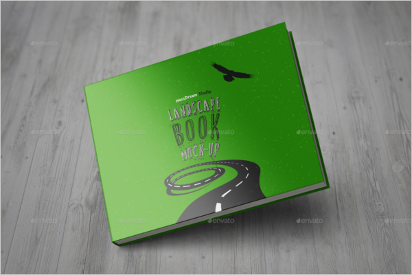 Landscape Book Design Template