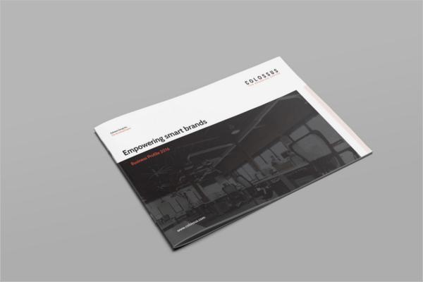 Landscape Brochure Design Free Sample
