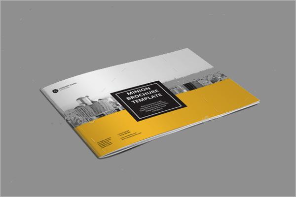 Landscape Brochure Template InDesign