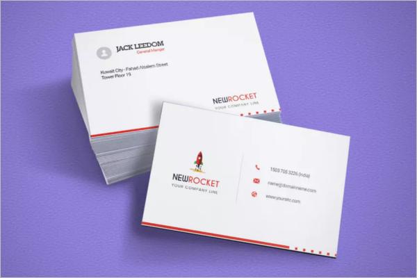Landscape Business Card Design