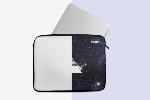 Laptop Sleeve Mockup