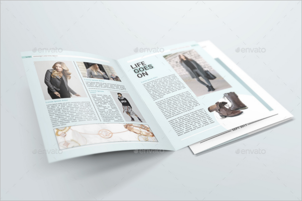 Latest A4 Brochure Mockup Design