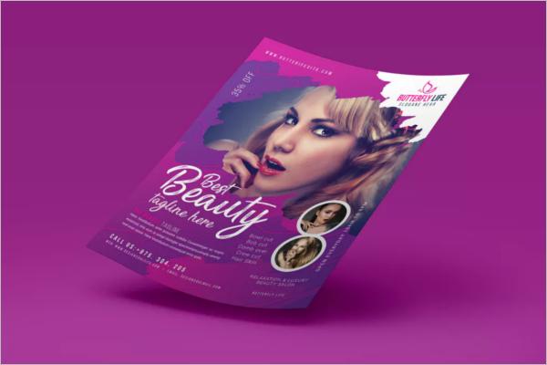 LatestBeauty Salon Flyer Template
