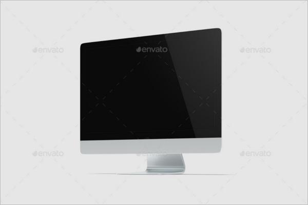 Latest Computer Mockup Design