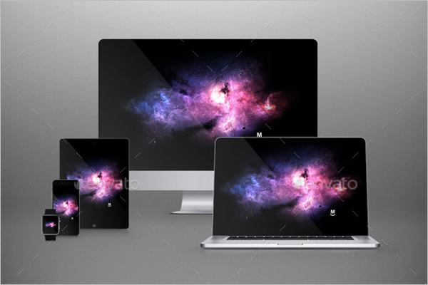 Latest Device Mockup Design