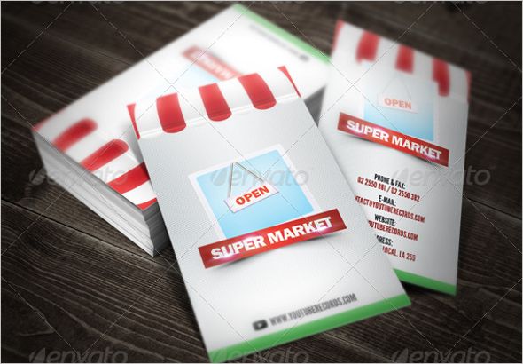 Latest Marketing Business Card Template