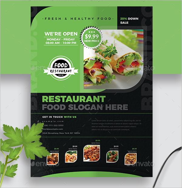 Latest Restaurant Flyer Design