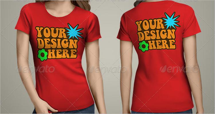 Latest T-Shirt Mockup Design