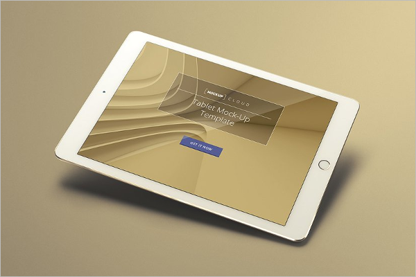 Latest ipad Mockup Design