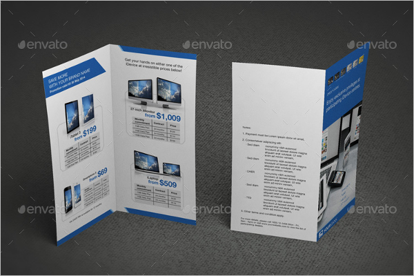 Leaflet Brochure Mockup Bundle Design