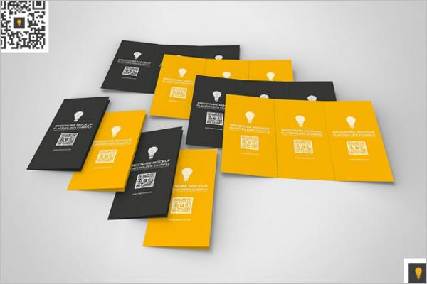 Leaflet Tri Fold Brochure Mockup Design
