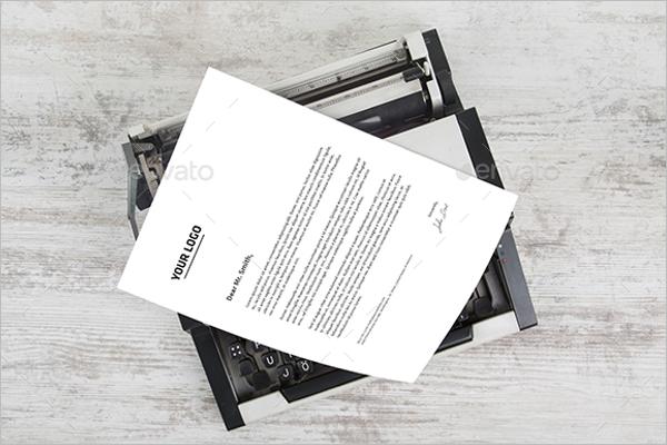 Legal Paper Mockup Template