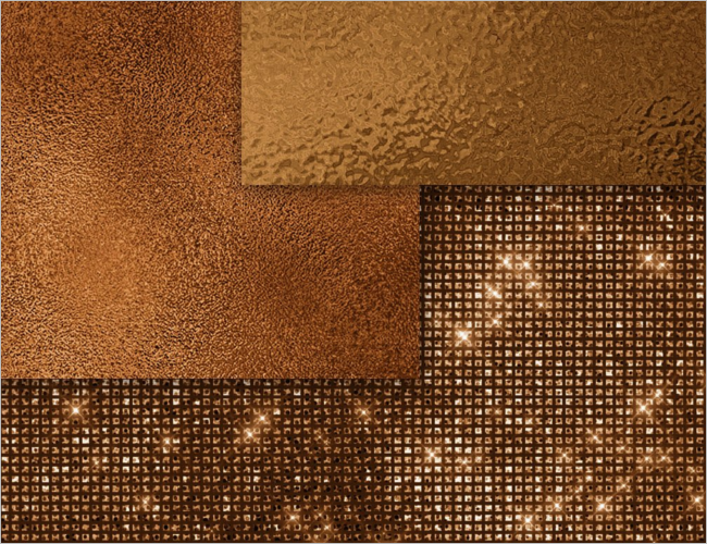 Luxury Bronze Texture Design