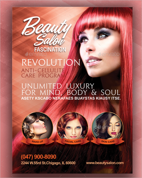 Luxury Salon Flyer Template