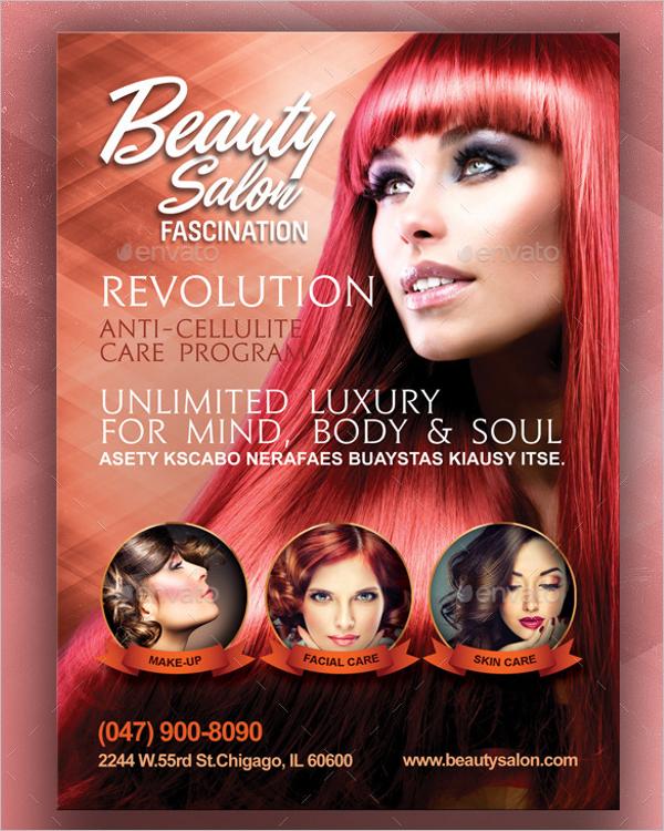 Luxury Salon Flyer Template