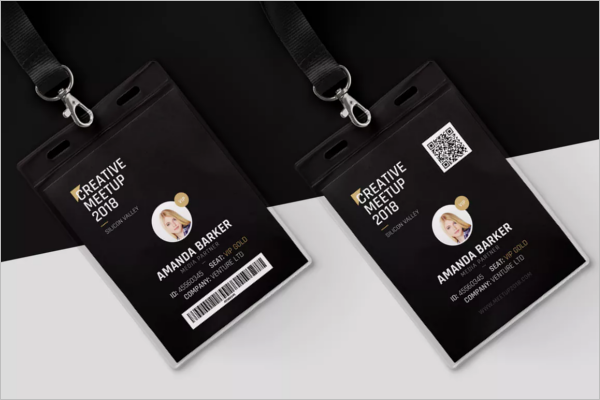 MS Word ID Card Template