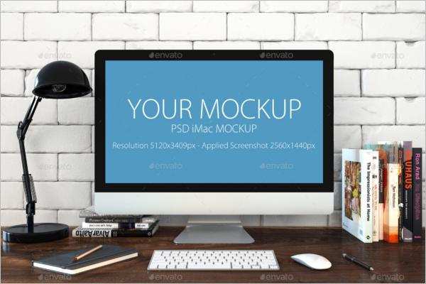 Mac Computer Mockup Design