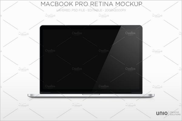 Macbook Air Pro Mockup Design