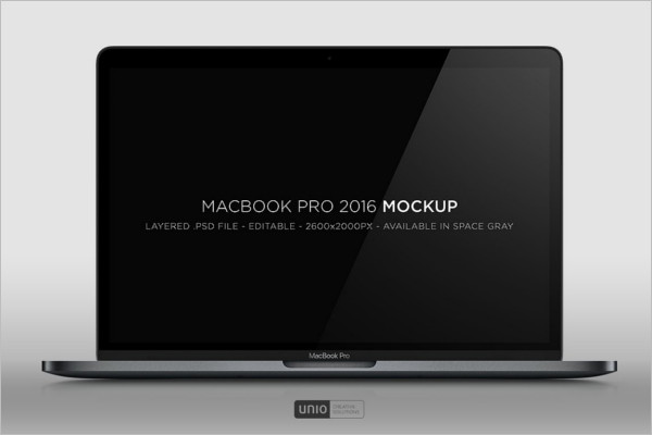 Macbook Pro Mockup Design
