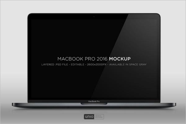 Macbook Pro Mockup Design
