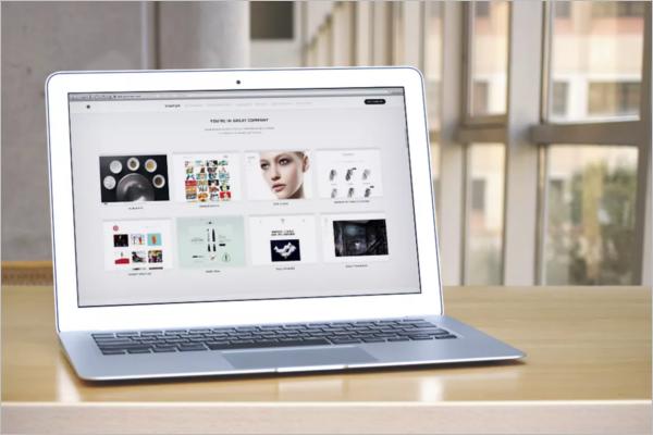 Macbook Laptop Display Mockup