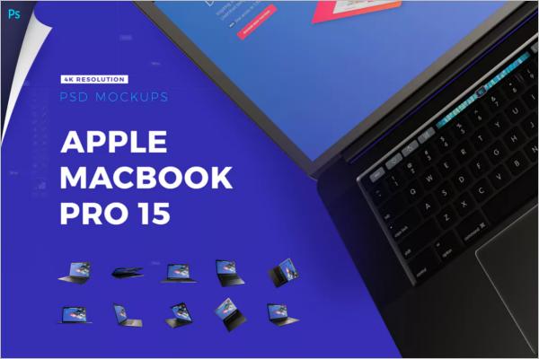 Macbook Mockup 2k16 Design