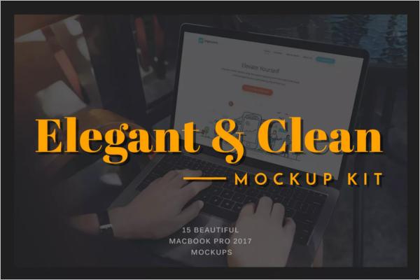 Macbook Mockup Design