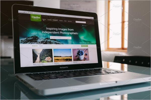 Macbook Mockup LandScape Design