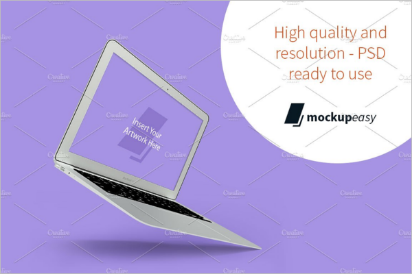 Macbook Mockup ai Design