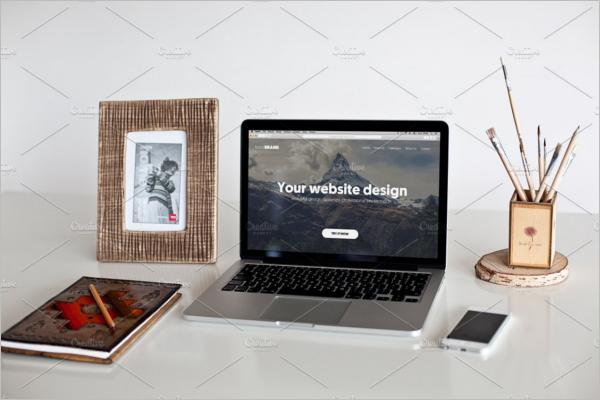 Macbook Air Pro Mockup Designs