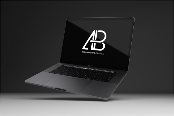 Macbook Pro Mockup Free Design