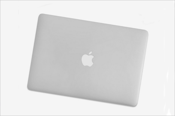 Macbook Skin Case Mockup Design