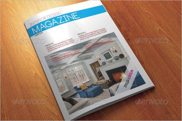 Magazine Interior design Template