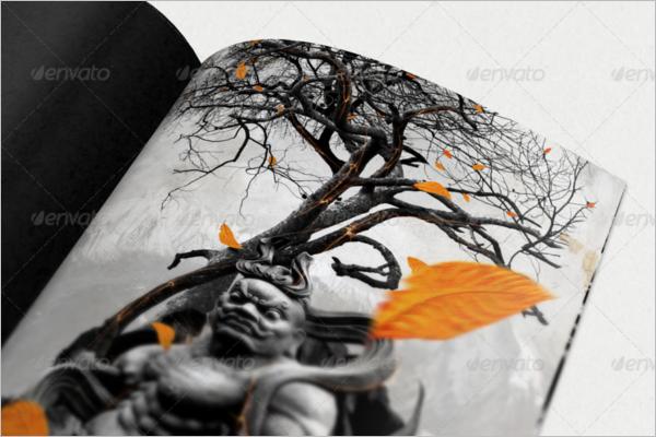 Magazine Mockup Animated Design