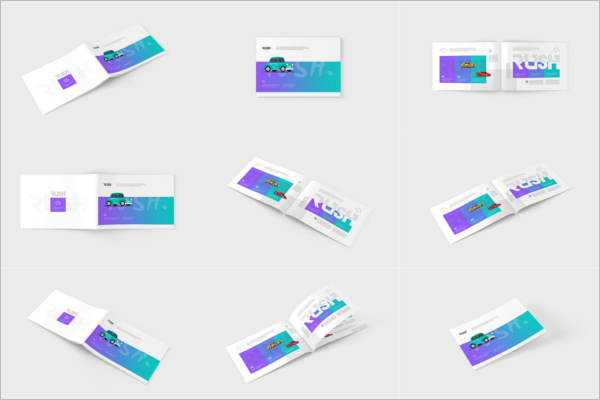 Magazine Mockup Bundle Design