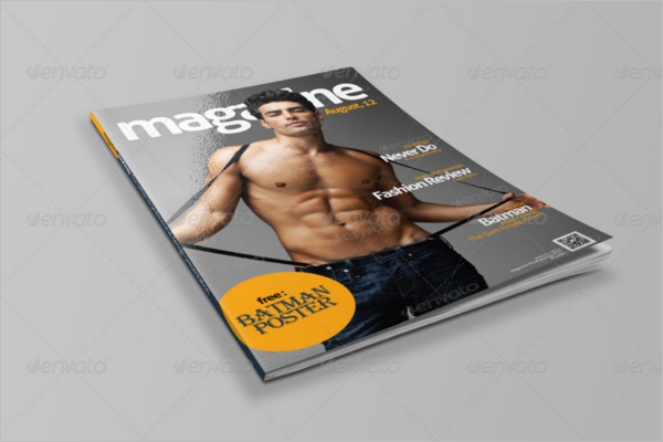 Magazine Mockup Cover Template