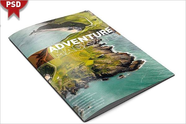 Magazine Mockup Photoshop Design