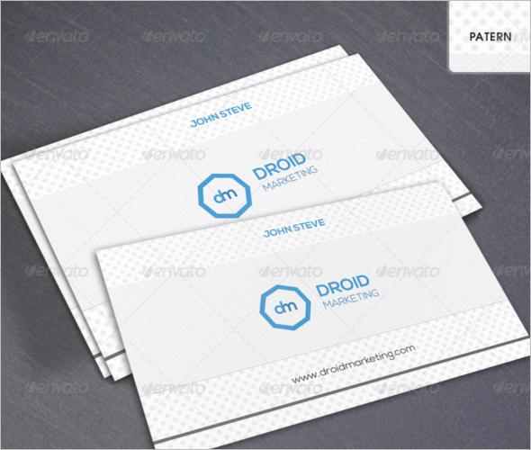 Marketing Corporate Business Card Design