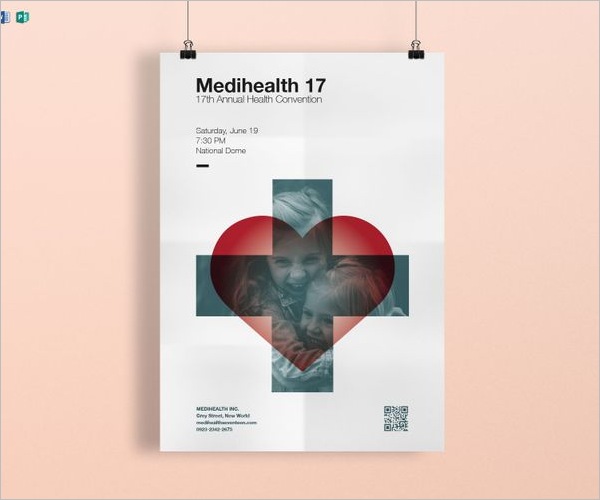 Medical Academy Poster Template