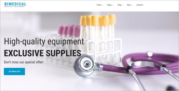Medical Equipment Woocommerce Theme