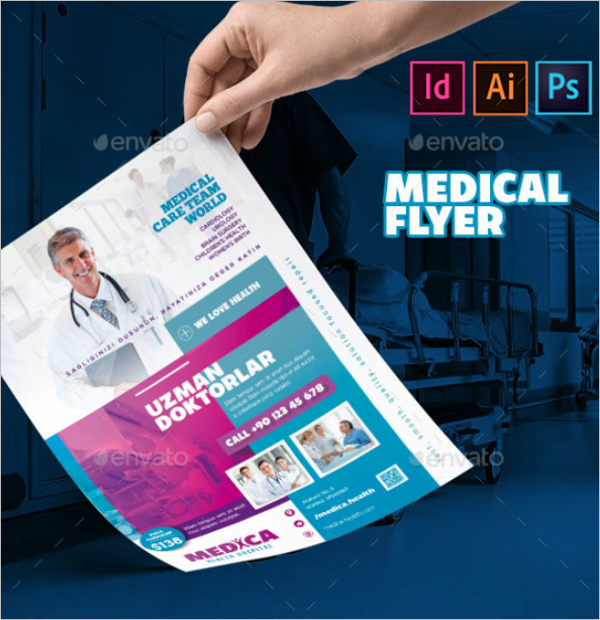 Medical Flyer Template Photoshop