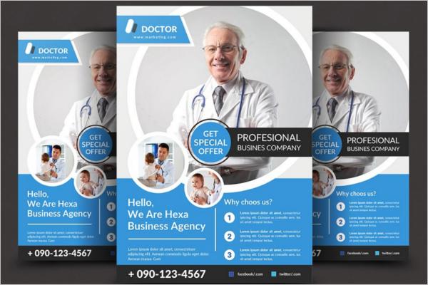 Medical Insurance Flyer Template